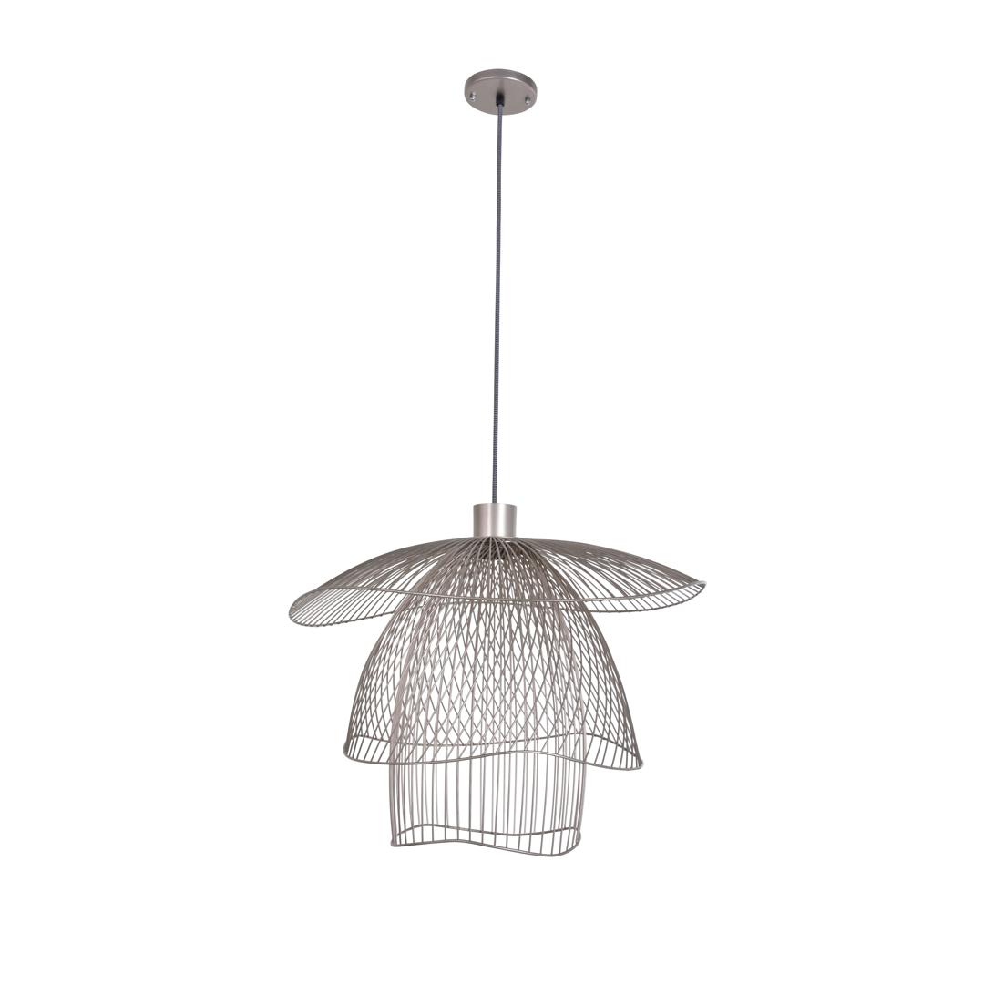 suspension papillon s cuivre 56cm h38 4cm forestier luminaires nedgis. Black Bedroom Furniture Sets. Home Design Ideas