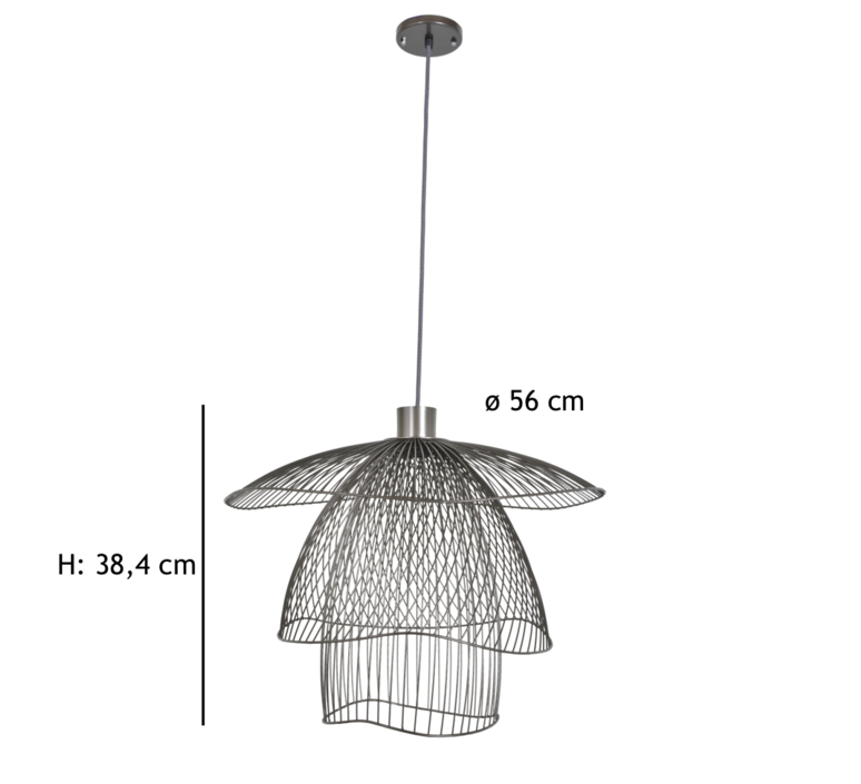 Papillon pm  suspension pendant light  forestier 20792  design signed 66989 product