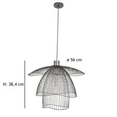 Papillon pm  suspension pendant light  forestier 20792  design signed 66989 thumb