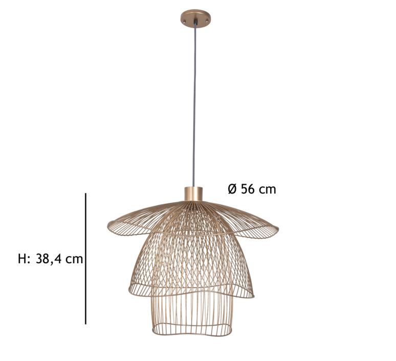 Papillon pm  suspension pendant light  forestier 20793  design signed 38414 product