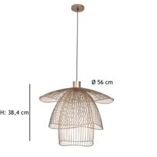 Papillon pm  suspension pendant light  forestier 20793  design signed 38414 thumb