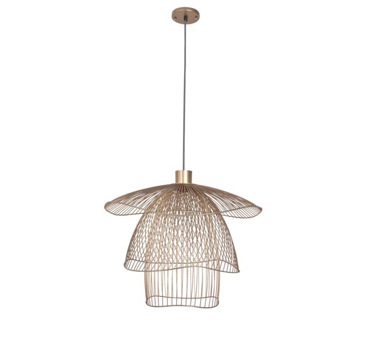 Papillon pm  suspension pendant light  forestier 20793  design signed 38415 product