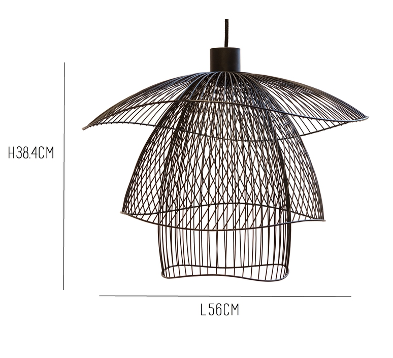 Papillon pm elise fouin forestier ef11170sba luminaire lighting design signed 27664 product