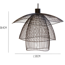 Papillon pm elise fouin forestier ef11170sba luminaire lighting design signed 27664 thumb