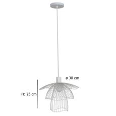 Papillon xs  suspension pendant light  forestier 20971  design signed 38424 thumb