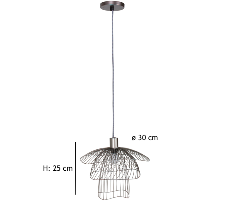 Papillon xs  suspension pendant light  forestier 20972  design signed 38416 product