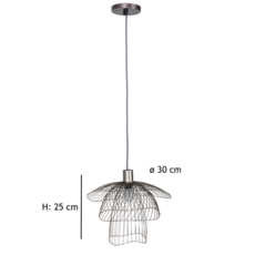 Papillon xs  suspension pendant light  forestier 20972  design signed 38416 thumb