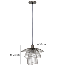 Papillon xs  suspension pendant light  forestier 20973  design signed 38418 thumb
