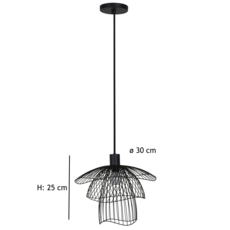 Papillon xs  suspension pendant light  forestier 20970  design signed 38422 thumb