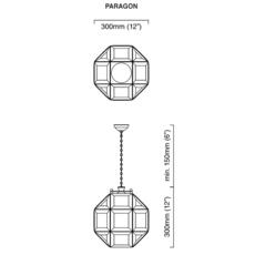 Paragon chris et clare turner suspension pendant light  cto lighting cto 01 180 0001  design signed 47927 thumb