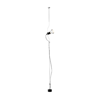 Suspension parentesi blanc o11cm h400cm flos normal