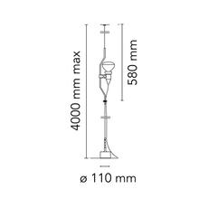 Parentesi dimmer achille castiglioni suspension pendant light  flos f5600009  design signed nedgis 97496 thumb