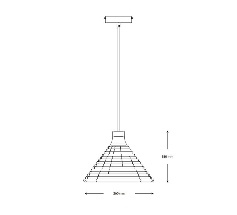 Parrot xs jette scheib suspension pendant light  forestier 21631  design signed nedgis 124002 product