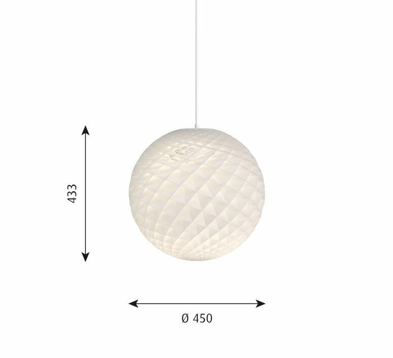Patera oivind alexander slaatto suspension pendant light  louis poulsen 5741099003  design signed nedgis 125600 product