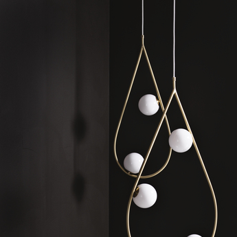 Suspension pearls 65 laiton l29cm h65cm pholc normal
