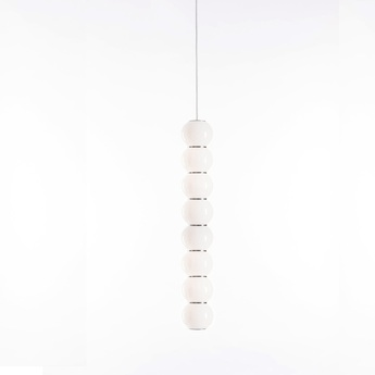 Suspension pearls double b 1200 lm 2700 k or led o10cm h67cm formagenda normal