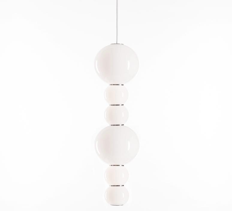 Pearls double c benjamin hopf suspension pendant light  formagenda pearlsdouble353c  design signed 87511 product