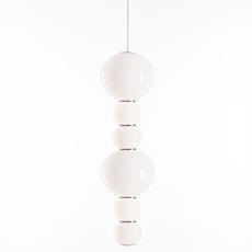 Pearls double c benjamin hopf suspension pendant light  formagenda pearlsdouble353c  design signed 87511 thumb