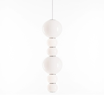 Suspension pearls double c 1200 lm 2700 k or led o18cm h67cm formagenda normal