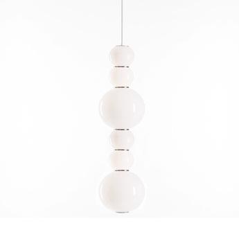 Suspension pearls double d 1200 lm 2700 k or led o18cm h67cm formagenda normal