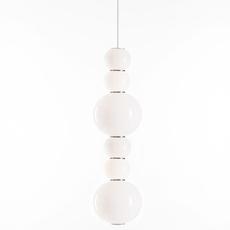 Pearls double d benjamin hopf suspension pendant light  formagenda pearlsdouble353d  design signed 41999 thumb
