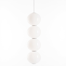 Pearls double e benjamin hopf suspension pendant light  formagenda pearlsdouble353e  design signed 42003 thumb