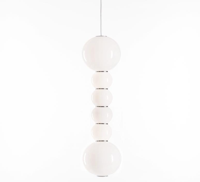 Pearls double f benjamin hopf suspension pendant light  formagenda pearlsdouble353f  design signed 42006 product