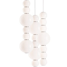 Pearls double g benjamin hopf suspension pendant light  formagenda pearlsdouble353g  design signed 42011 thumb