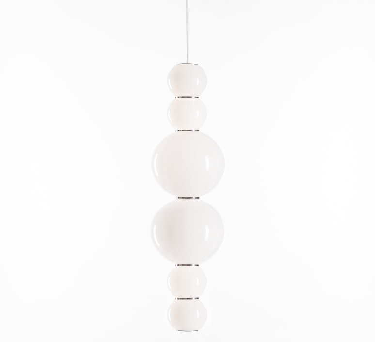Pearls double h benjamin hopf suspension pendant light  formagenda pearlsdouble353h  design signed 42012 product