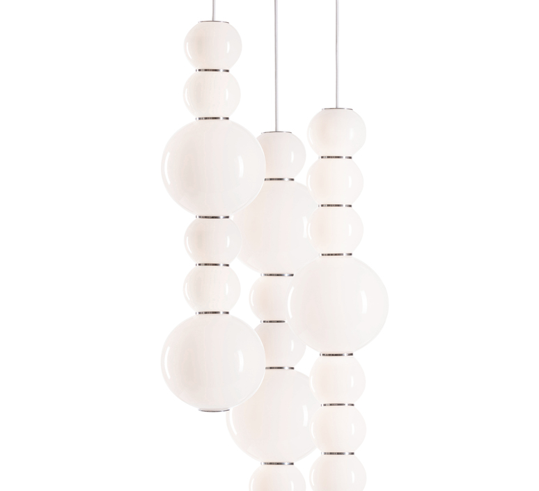 Pearls double h benjamin hopf suspension pendant light  formagenda pearlsdouble353h  design signed 42014 product