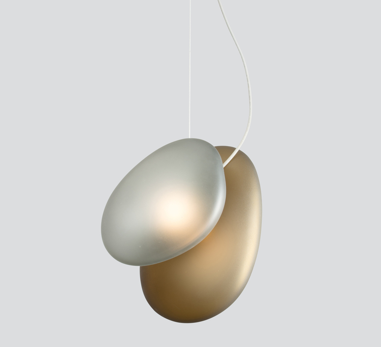 Pebble a citrine c slate  lukas peet suspension pendant light  andlight a ci c sl  design signed nedgis 88316 product