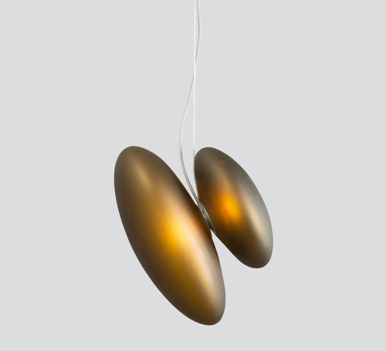 Pebble b citrine c citrine lukas peet suspension pendant light  andlight b ci c ci  design signed nedgis 88268 product