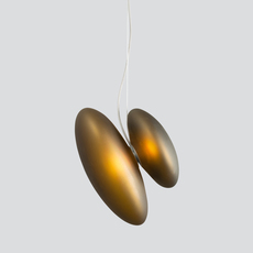 Pebble b citrine c citrine lukas peet suspension pendant light  andlight b ci c ci  design signed nedgis 88268 thumb