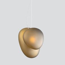 Pebble b citrine c citrine lukas peet suspension pendant light  andlight b ci c ci  design signed nedgis 88269 thumb