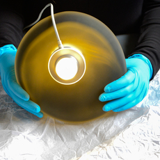 Pebble b perle c citrine  lukas peet suspension pendant light  andlight b pl c ci  design signed nedgis 88303 thumb