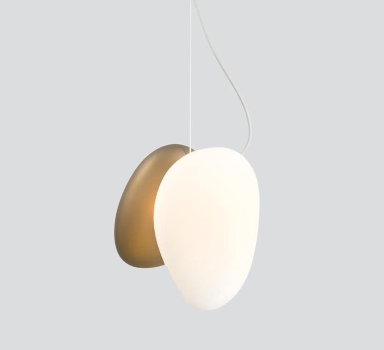 Pebble b perle c citrine  lukas peet suspension pendant light  andlight b pl c ci  design signed nedgis 88308 product