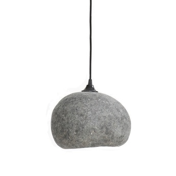 Suspension pebble small gris l27cm h21cm ay illuminate normal