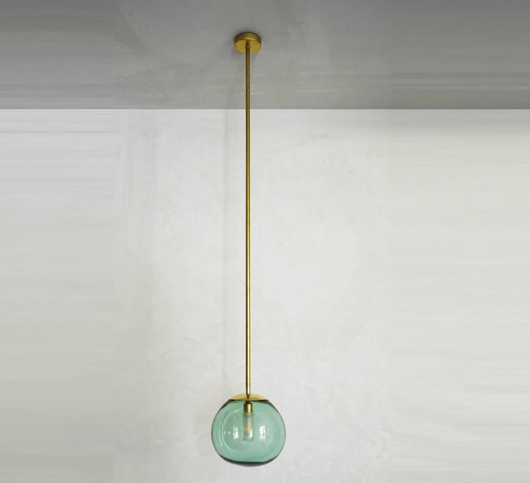 Pendant ball mauricio obarrio suspension pendant light  contain mod 116 brushed brass  design signed nedgis 114800 product