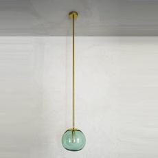 Pendant ball mauricio obarrio suspension pendant light  contain mod 116 brushed brass  design signed nedgis 114800 thumb