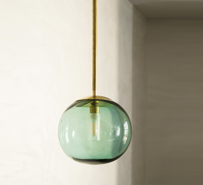 Pendant ball mauricio obarrio suspension pendant light  contain mod 116 brushed brass  design signed nedgis 114801 product