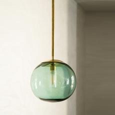 Pendant ball mauricio obarrio suspension pendant light  contain mod 116 brushed brass  design signed nedgis 114801 thumb