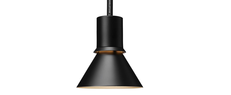 Suspension pendant light type 80 noir mat o14 5cm h20 6cm anglepoise normal