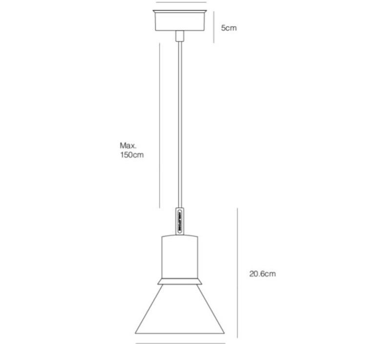 Pendant light type 80 sir kenneth grange suspension pendant light  anglepoise 32931  design signed nedgis 71489 product