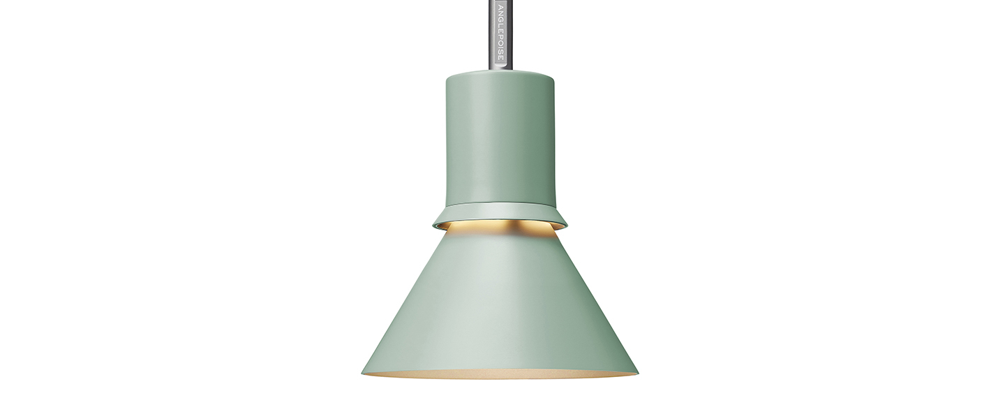 Suspension pendant light type 80 vert pistache o14 5cm h20 6cm anglepoise normal