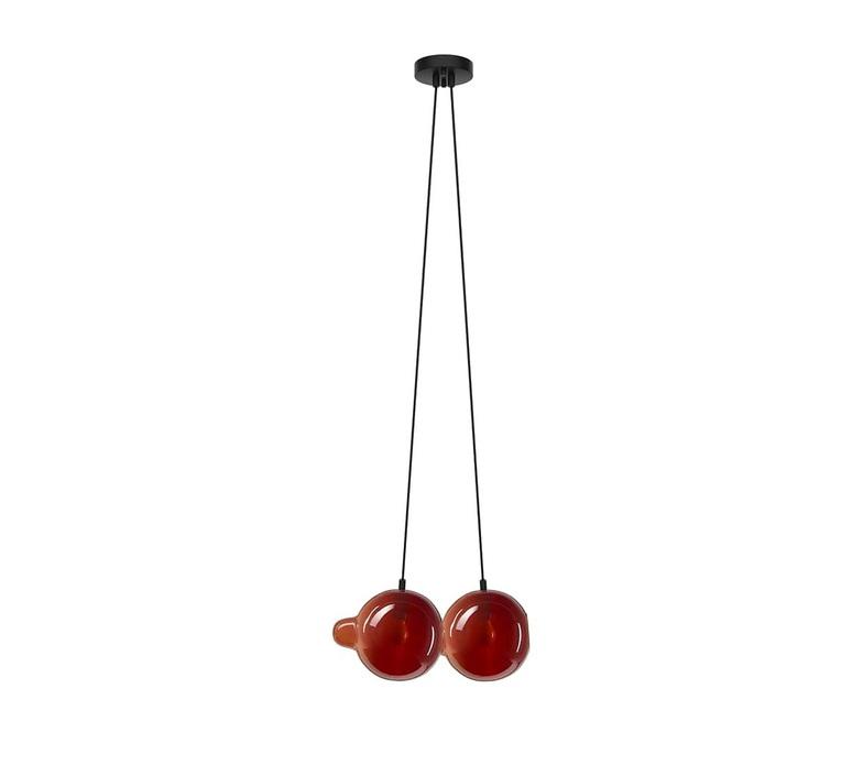 Pendulum 2 studio deform suspension pendant light  bomma pendulum2 2rouge  design signed nedgis 82942 product
