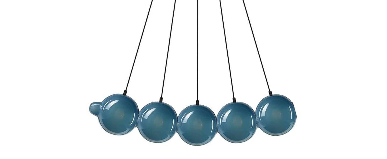 Suspension pendulum 5 bleu l97cm h24cm bomma normal