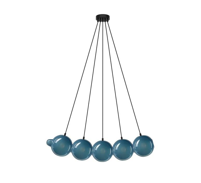 Pendulum 5 studio deform suspension pendant light  bomma pendulum5 5bleu  design signed nedgis 82959 product