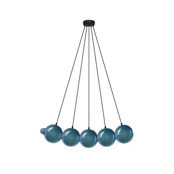 Suspension pendulum 5 bleu l97cm h24cm bomma normal