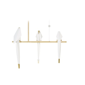 Suspension perch light branch small blanc or l73cm p36 h53cm moooi normal