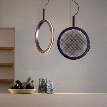 Suspension periplo violet led o47 5cm h45 5cm karman se156 am int normal